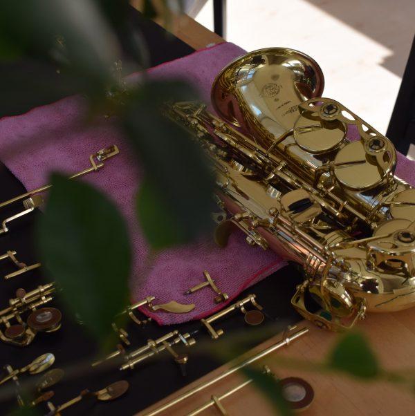 reparatie saxofoon