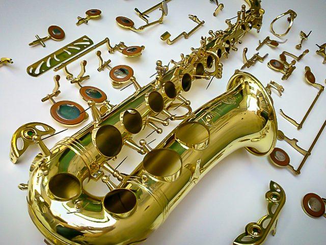 saxofoon reparatie